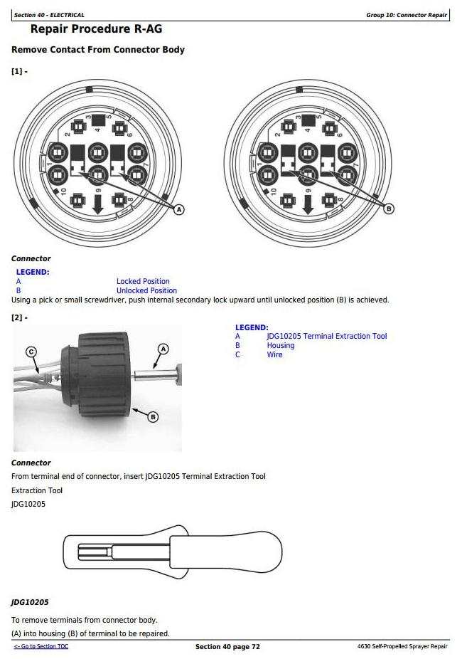 TM106119 - John Deere 4630 Self-Propelled Sprayes (PIN Prefix 1YH) Service Repair Technical Manual - 1
