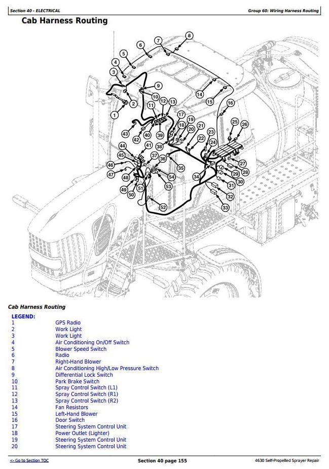 TM106119 - John Deere 4630 Self-Propelled Sprayes (PIN Prefix 1YH) Service Repair Technical Manual - 2