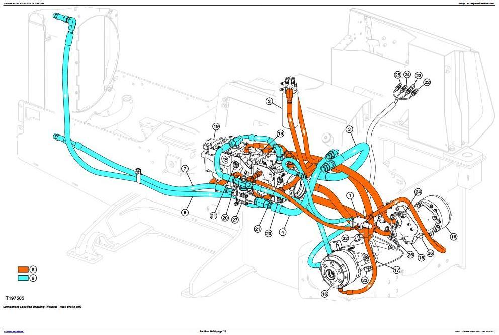 TM10721 - John Deere 450J, 550J, 650J Crawler Dozer (S.N.from 159987) Diagnostic&Test Service Manual - 3