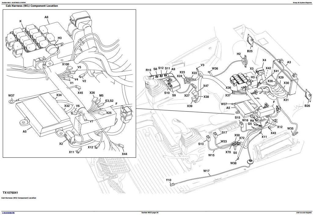 TM10736 - John Deere 120D Excavator Service Repair Manual (TM10737) - 1