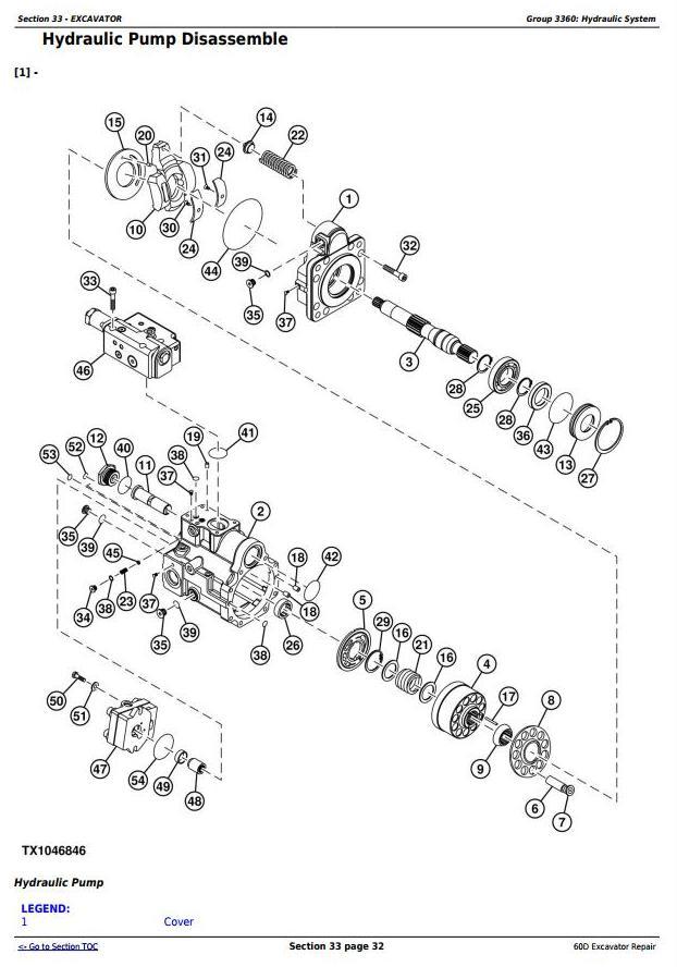 TM10761 - John Deere 60D Compact Excavator Service Repair Technical Manual - 3