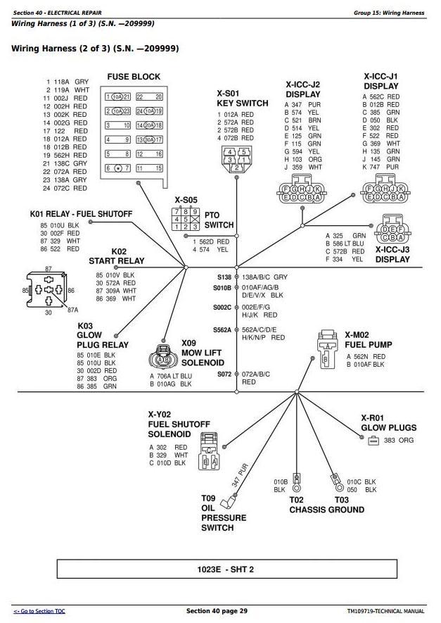 TM109719 - John Deere 1023E & 1026R Worldwide Compact Utility Tractors Technical Manual - 1