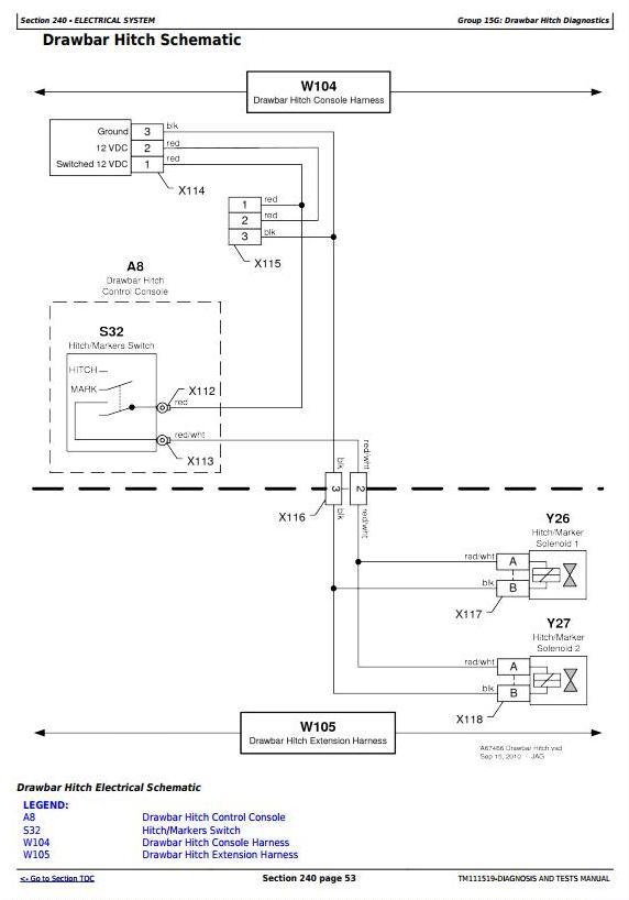 TM111519 - John Deere 1770NT 16-Row Planter Frame (SN.740101-745000) Diagnostic Service Manual - 3