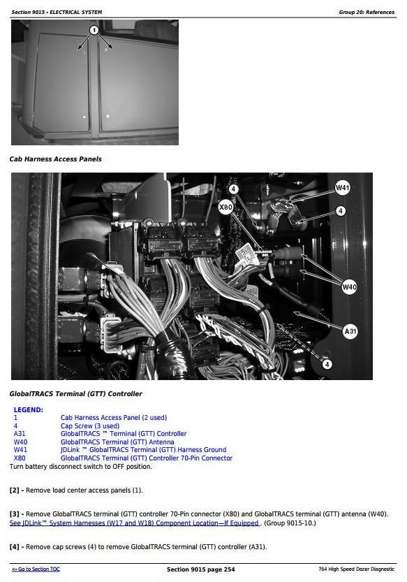 TM11192 - John Deere 764 High Speed Crawler Dozer Diagnostic, Operation and Test Service Manual - 1