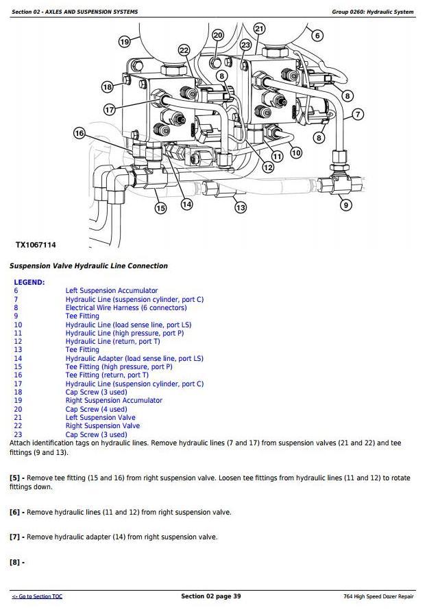 TM11193 - John Deere 764 High Speed Crawler Dozer Service Repair Technical Manual - 1