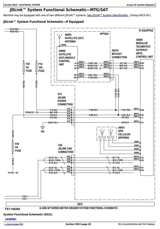 TM11204 - John Deere 670G, 670GP, 672G, 672GP (SN. —634753) Motor Grader Diagnostic Service Manual - 1