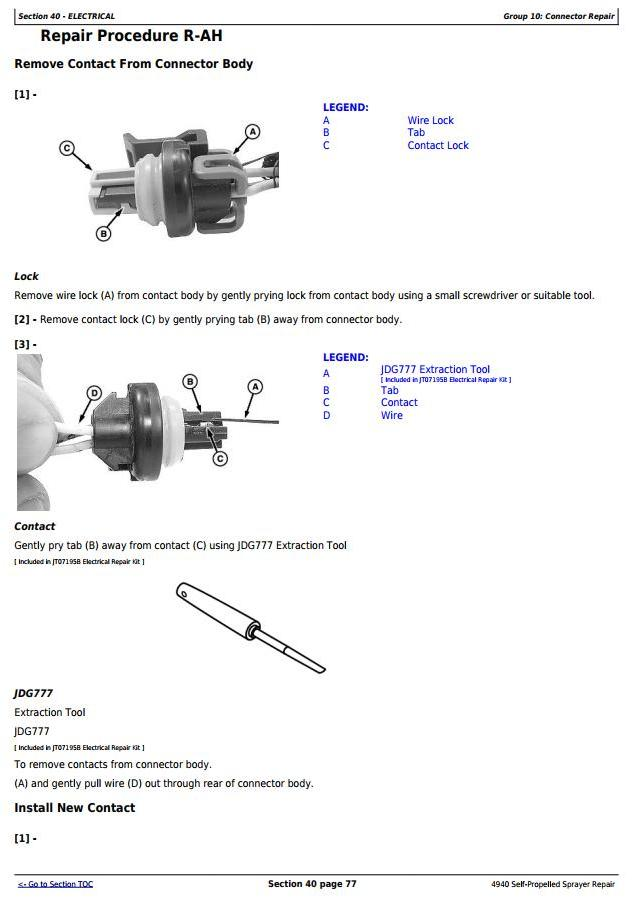 TM113619 - John Deere 4940 Self-Propelled Sprayers Service Repair Technical Manual - 1