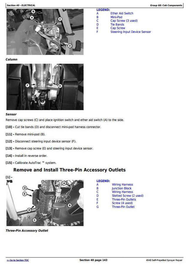 TM113619 - John Deere 4940 Self-Propelled Sprayers Service Repair Technical Manual - 2