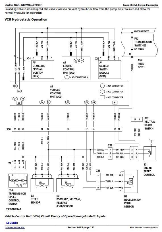 TM12043 - John Deere 850K Crawler Dozer (PIN: 1T0850KX__E178122-271265) Diagnostic, Test Service Manual - 1