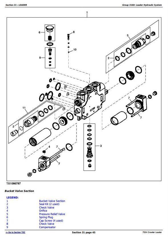 TM12052 - John Deere 755K Crawler Loader Service Repair Technical Manual - 2
