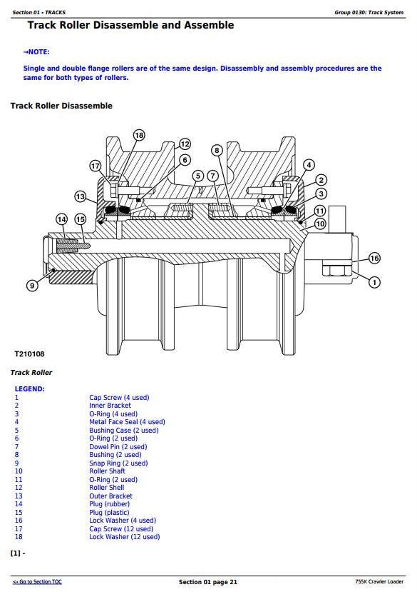 TM12052 - John Deere 755K Crawler Loader Service Repair Technical Manual - 3