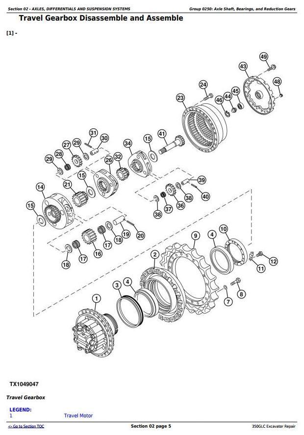 TM12173 - John Deere 350GLC Excavator Diagnostic, Operation and Test Service Manual - 3