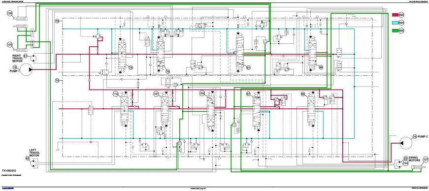 TM12176 - John Deere 870GLC Excavator w.Engine 6WG1XZSA-02 Diagnostic, Operation, Test Service Manual - 2