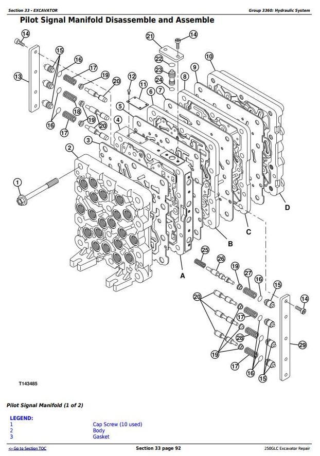 TM12177 - John Deere 250GLC Excavator Service Repair Technical Manual - 3