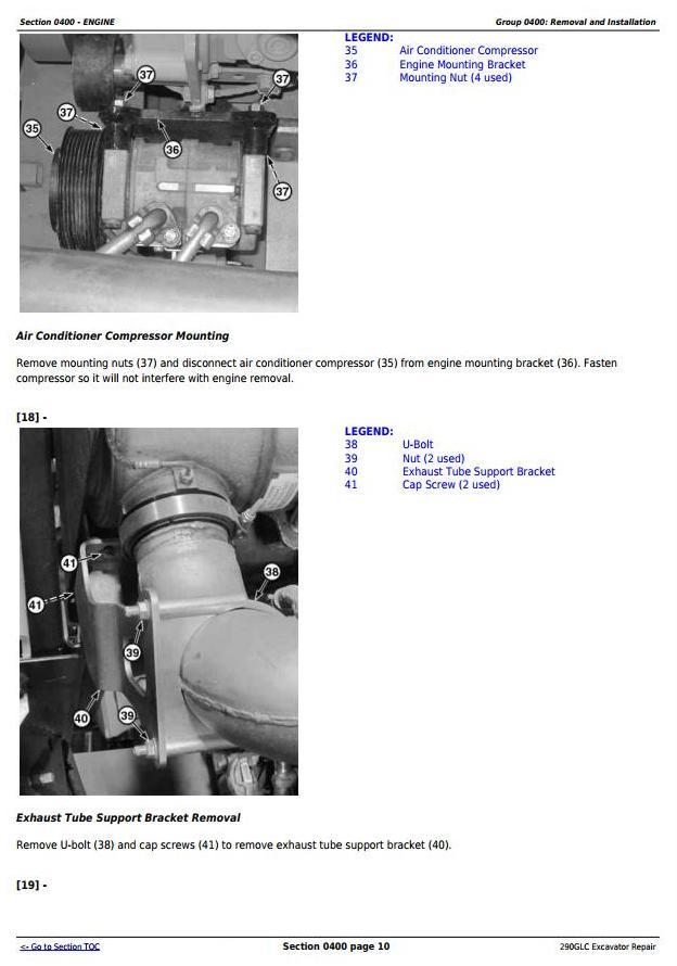 TM12178 - John Deere 290GLC Excavator Service Repair Technical Manual - 1