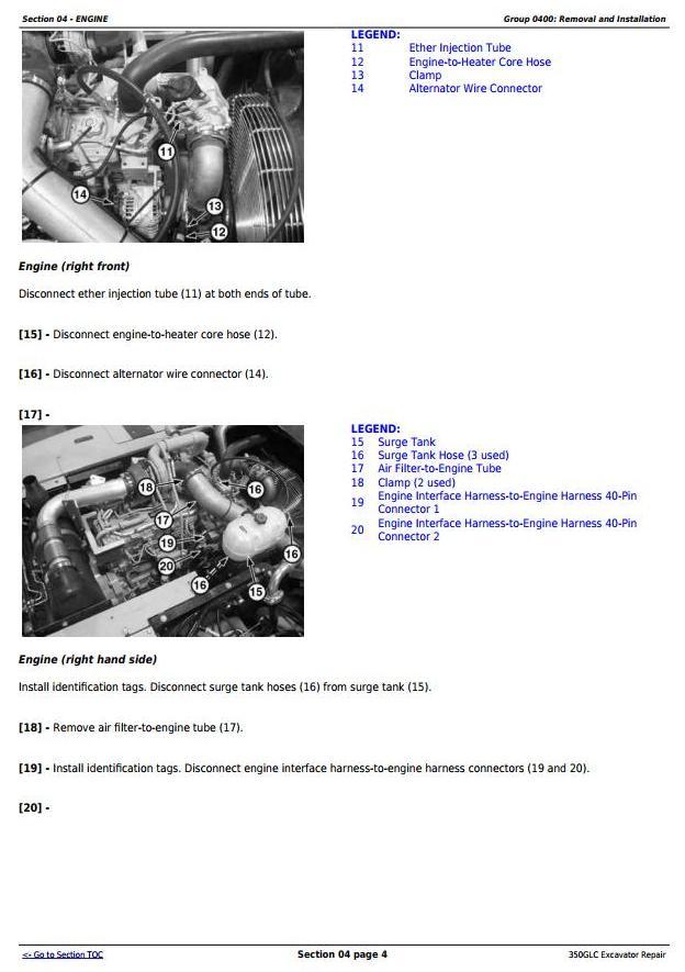 TM12179 - John Deere 350GLC Excavator Service Repair Technical Manual - 1