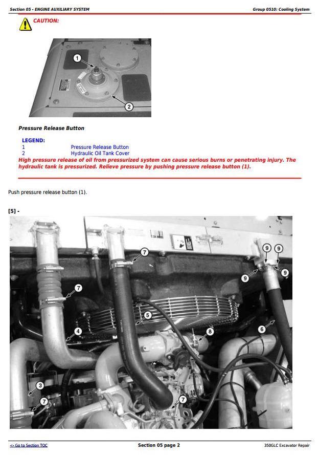 TM12179 - John Deere 350GLC Excavator Service Repair Technical Manual - 2