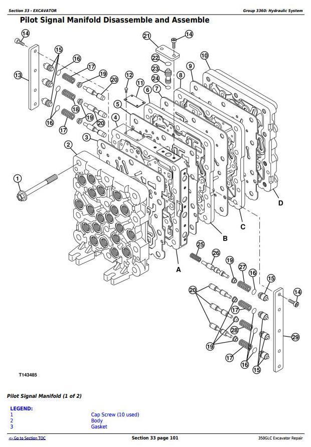 TM12179 - John Deere 350GLC Excavator Service Repair Technical Manual - 3