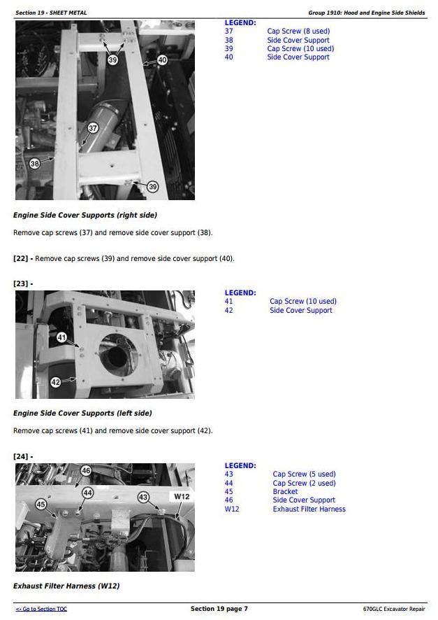 TM12181 - John Deere 670GLC Excavator with Engine 6WG1XZSA-02 Service Repair Technical Manual - 2