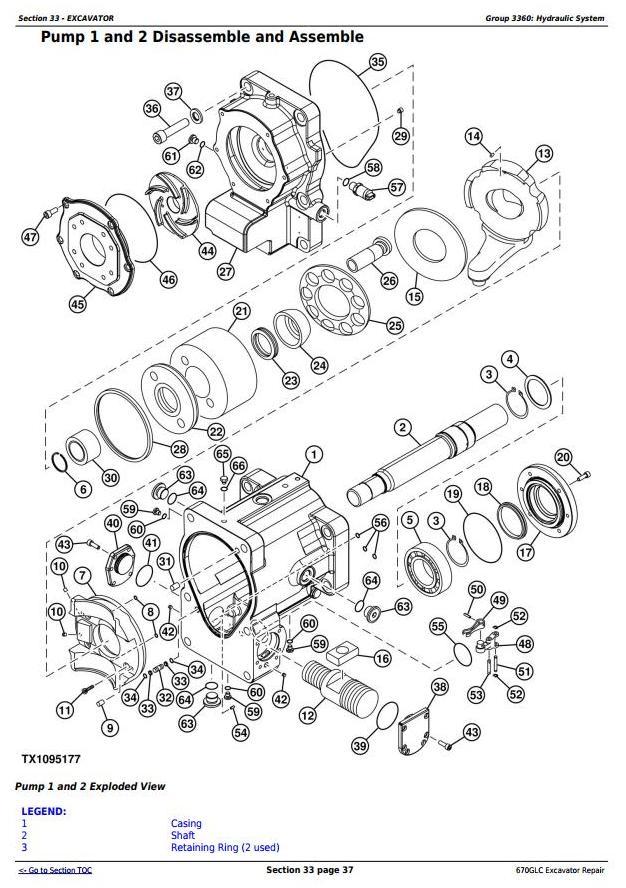 TM12181 - John Deere 670GLC Excavator with Engine 6WG1XZSA-02 Service Repair Technical Manual - 3