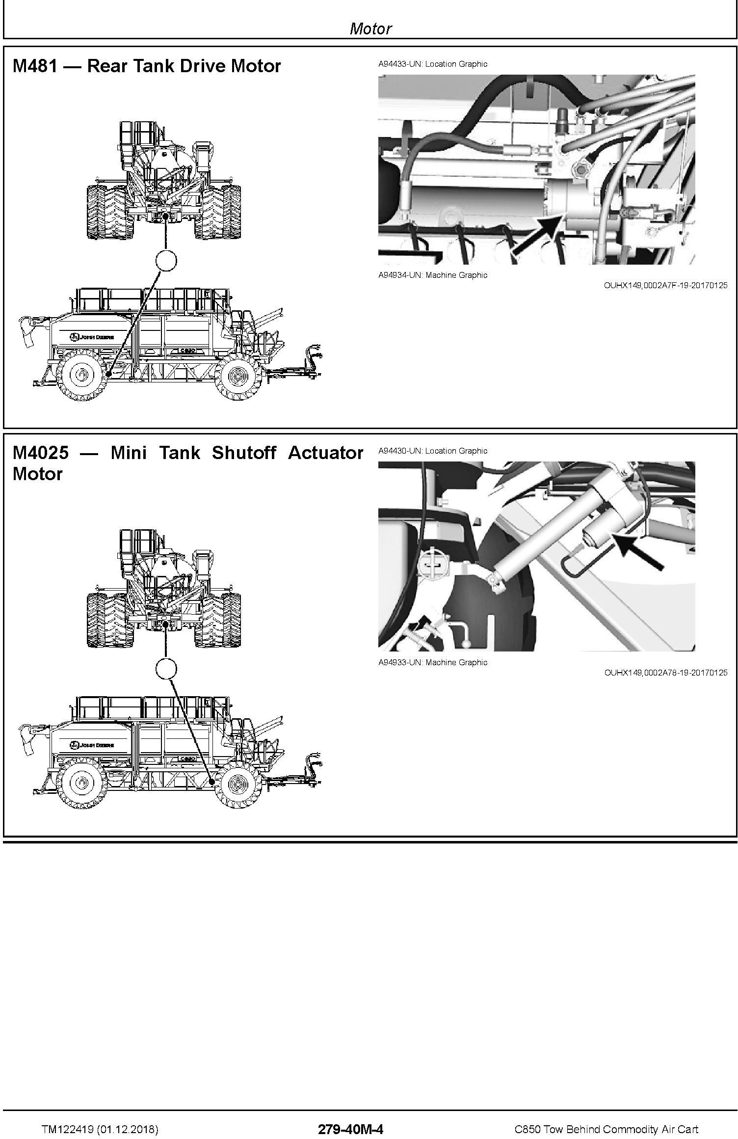 John Deere C850 Tow Behind Commodity Air Cart Diagnostic Technical Manual (TM122419) - 3
