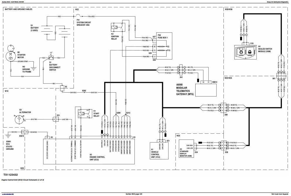 TM12294 - John Deere 700K Crawler Dozer (S.N. 217278-275435) Diagnostic, Operation&Test Service Manual - 1