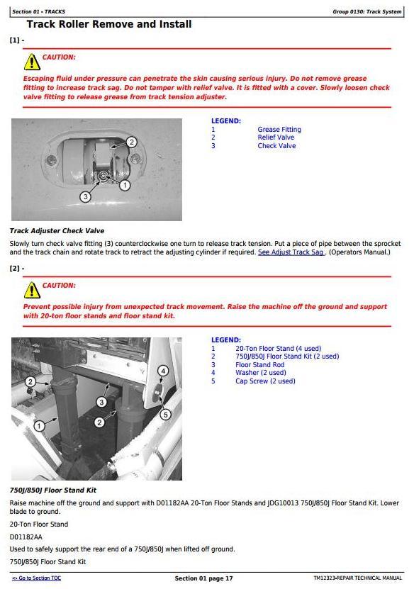 TM12323 - John Deere 850J Crawler Dozer with Engine 6068HT090 Service Repair Technical Manual - 3