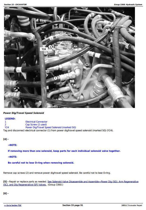 TM12339 - John Deere 180GLC (PIN: 1FF180GX__E020001-) iT4/S3B Excavator Service Repair Manual - 2