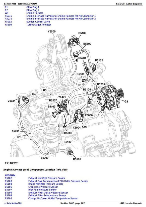 TM12348 - John Deere 130G (iT4/S3B) Excavator (S.N.1FF130GX_E040001) Operation & Test Service Manual - 1