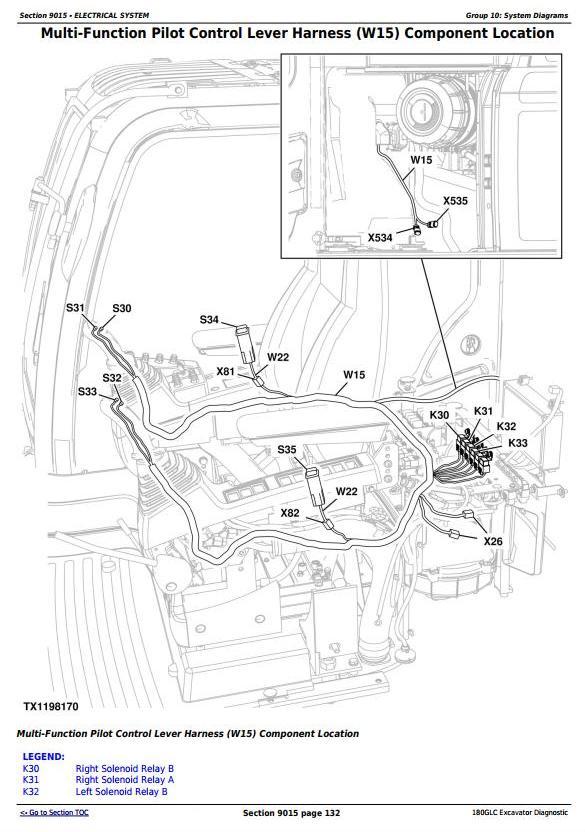 TM12542 - John Deere 180GLC (PIN: 1FF180GX__D020001) T3/S3A Excavator Diagnostic, Operation and Test manual - 1