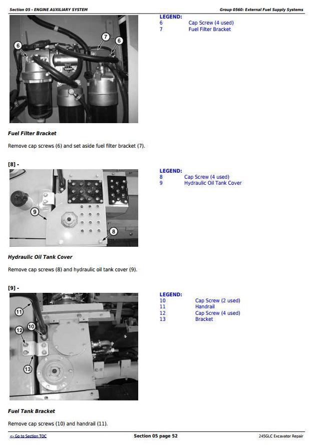 TM12663 - John Deere 245GLC iT4 Excavator Service Repair Technical Manual - 1