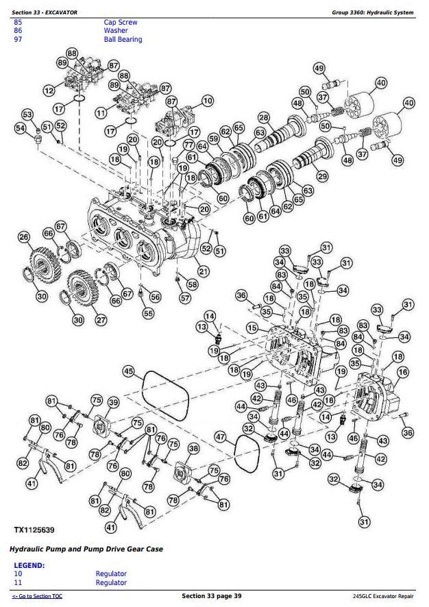 TM12663 - John Deere 245GLC iT4 Excavator Service Repair Technical Manual - 2