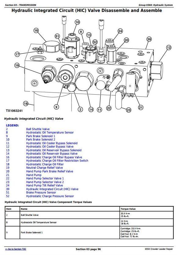 TM12721 - John Deere 655K Crawler Loader Service Repair Technical Manual - 2