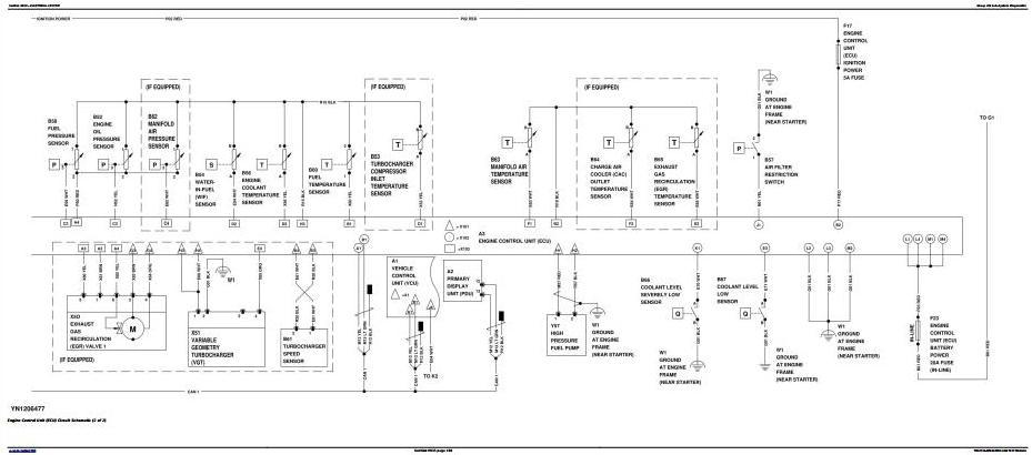 TM12729 - John Deere E210, E210LC, E230LC Excavator Diagnostic, Operation and Test Service Manual - 1
