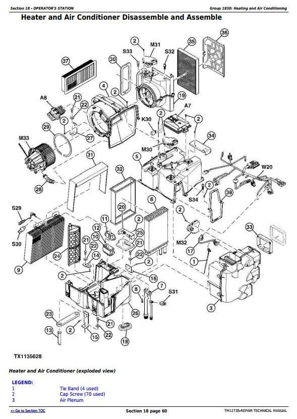 TM12735 - John Deere E210, E210LC and E230LC (T2/S2) Excavator Service Repair Technical Manual - 2