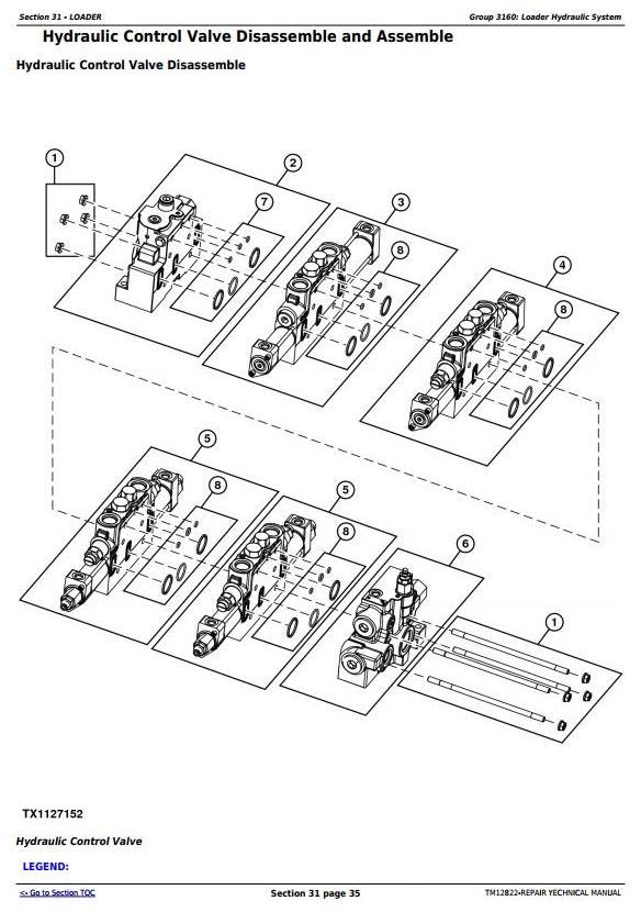 TM12822 - John Deere 605K Crawler Loader (PIN from 1T0605KX**E237629) Service Repair Technical Manual - 3