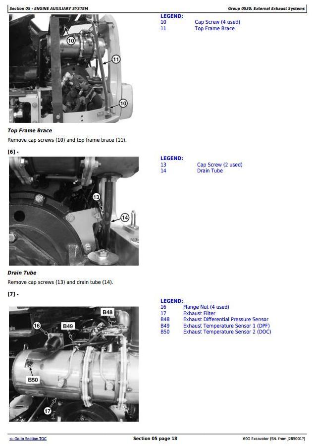 TM12882 - John Deere 60G (SN.J285001—) Compact Excavator Service Repair Technical Manual - 2