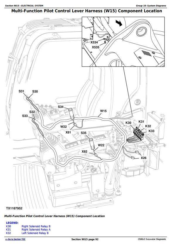 TM13078X19 - John Deere 250GLC (T2/S2) Excavator Diagnostic, Operation and Test Service Manual - 1