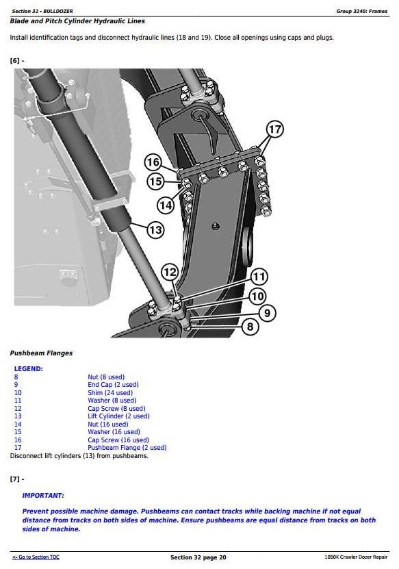 TM13097X19 - John Deere 1050K Crawler Dozer (PIN:1T01050K**F268234-) Service Repair Technical Manual - 3