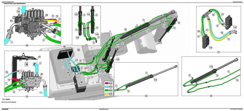 TM13104X19 - John Deere E360 and E360LC Excavator Diagnostic, Operation and Test Service Manual - 1