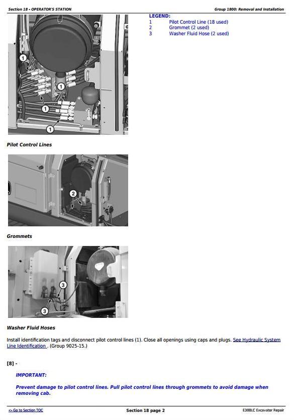 TM13105X19 - John Deere E300LC (T2/S2) Excavator Service Repair Technical Manual - 1
