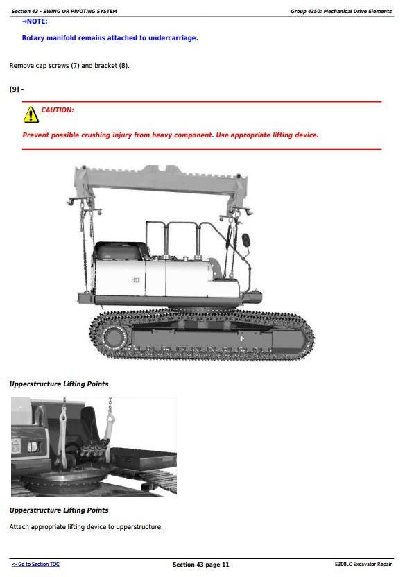 TM13105X19 - John Deere E300LC (T2/S2) Excavator Service Repair Technical Manual - 3