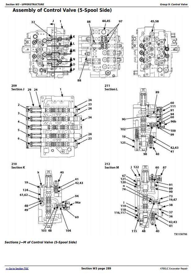 TM13174X19 - John Deere 470GLC Excavator (PIN: 1FF470GX__C047001-) Service Repair Technical Manual - 1