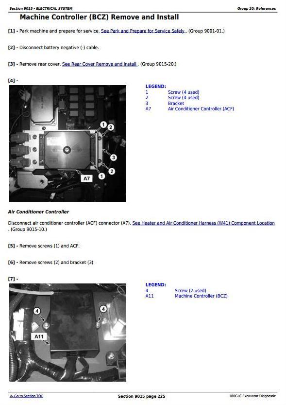 TM13194X19 - John Deere 180GLC (PIN:1F9180GX__D020001-) Excavator Diagnostic, Operation and Test Manual - 1