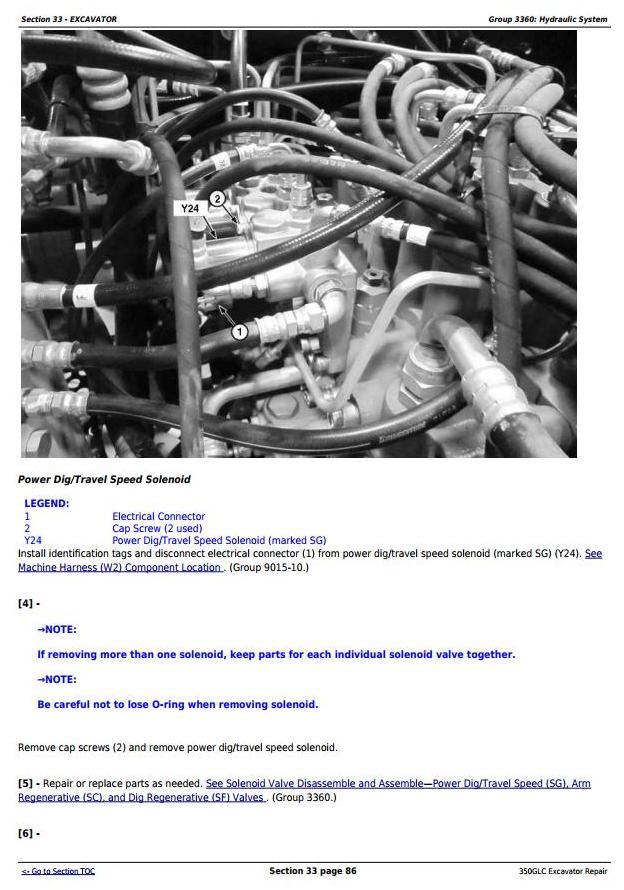 TM13207X19 - John Deere 350GLC (PIN: 1FF350GX__F809192-) Excavator Service Repair Technical Manual - 3