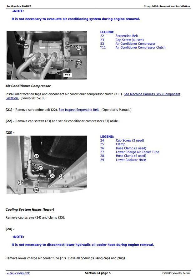 TM13209X19 - John Deere 250GLC (PIN: 1FF250GX__F608713-) Excavator Service Repair Technical Manual - 1