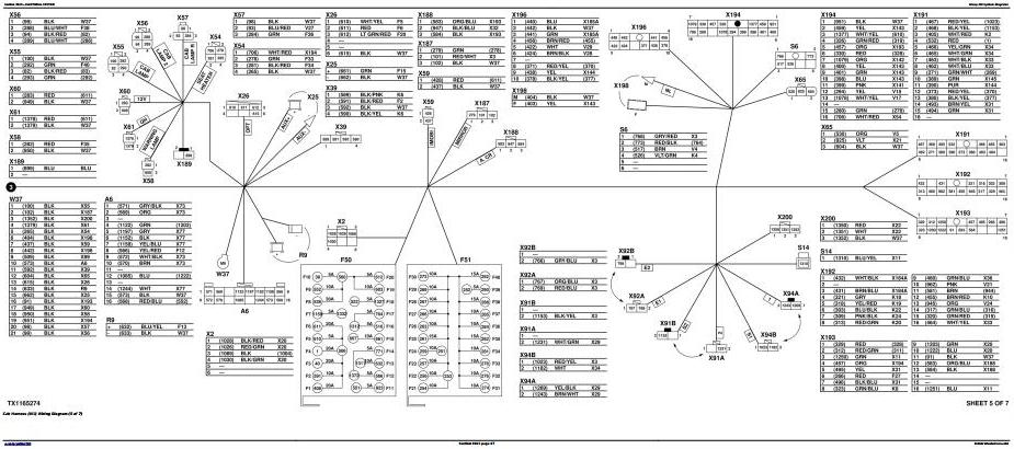 TM13247X19 - John Deere 190GW (PIN:1FF190GW__E051001-) Wheeled Excavator Diagnostic, Operation and Test manual - 2