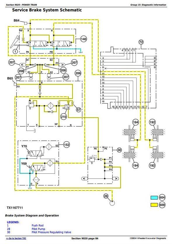 TM13249X19 - John Deere 230GW Wheeled Excavator Diagnostic, Operation and Test Service Manual - 2
