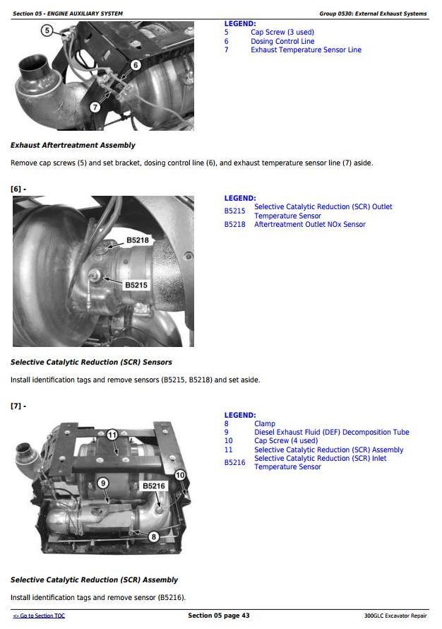 TM13264X19 - John Deere 300GLC Excavator Service Repair Technical Manual - 1