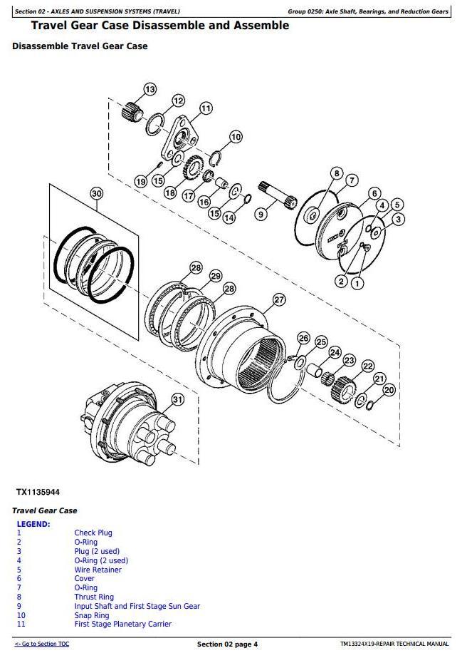 TM13324X19 - John Deere 26G (SN. from K260001) Compact Excavator Service Repair Technical Manual - 1